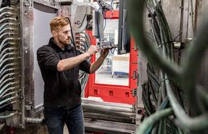 HSV TMP ist eines der führenden Unternehmen in Europa in Bezug auf die Herstellung großer Kunststoffprodukte.