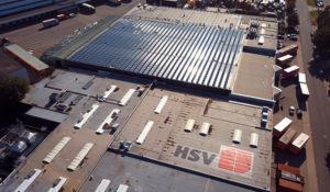 HSV Technical Moulded Parts nutzt nachhaltig erzeugten Strom der Solarkollektoren