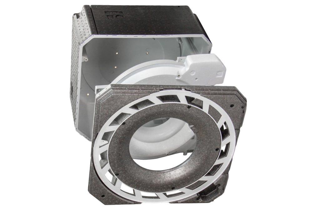HSV Technical Moulded Parts, hybrid Komplexe zusammengesetzte Kassette für die Deckenventilation