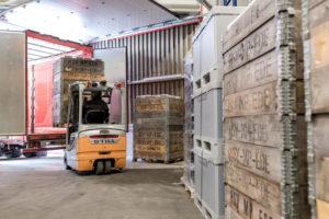 Geringere Transportkosten durch ausgeklügelte Produktentwürfe und durchdachte Verpackungslösungen bei HSV TMP