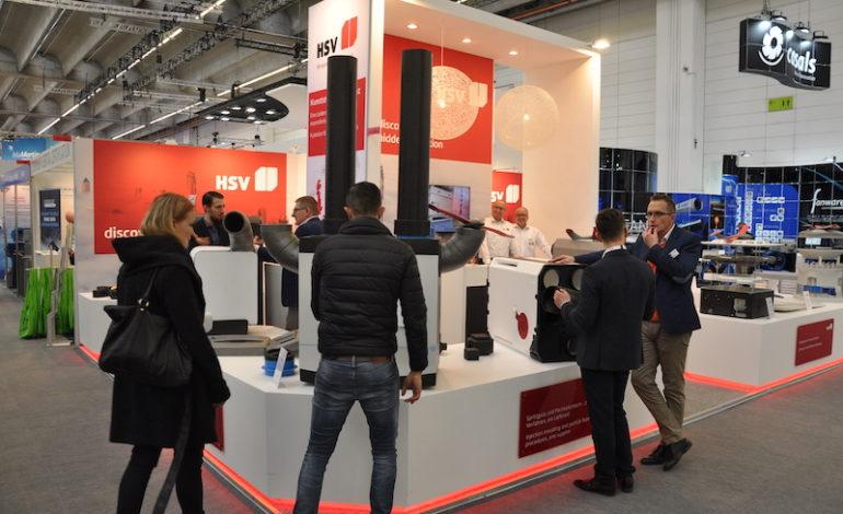 Auf der ISH 2019 hat HSV nachhaltige Produktinnovationen präsentiert, die auf Bedarfsfragen der HLK-Branche eingehen.